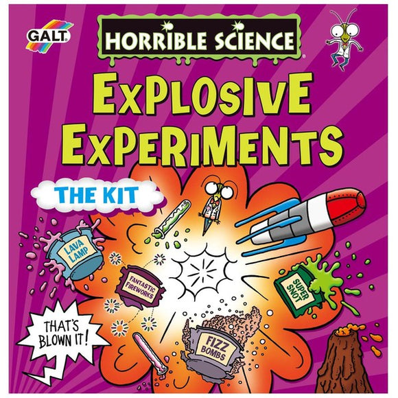 Horrible Science, Explosive Experiments