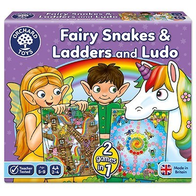 Orchard Fairy Snakes & Ladders and Ludo
