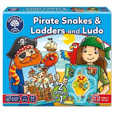 Orchard Pirate Snakes and Ladders & Ludo