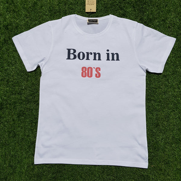 T-Shirt Born in 80´s