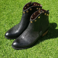 Bota Sarah Croco Black