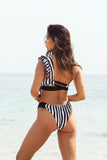 Cueca de biquini Stripes