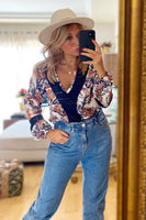 Blusa Mathilde Flowers