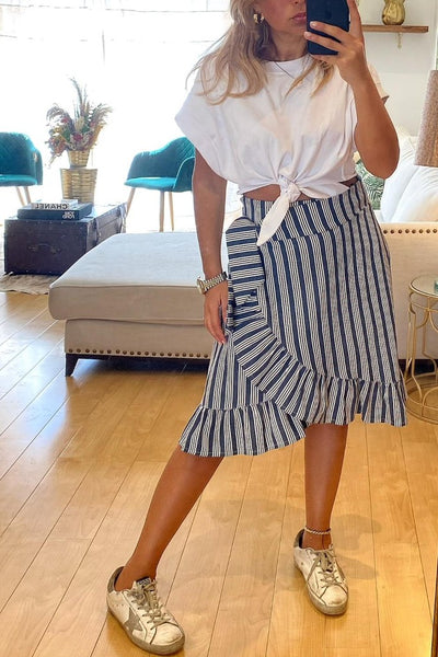 -50% Off  - Saia Victoria Stripes