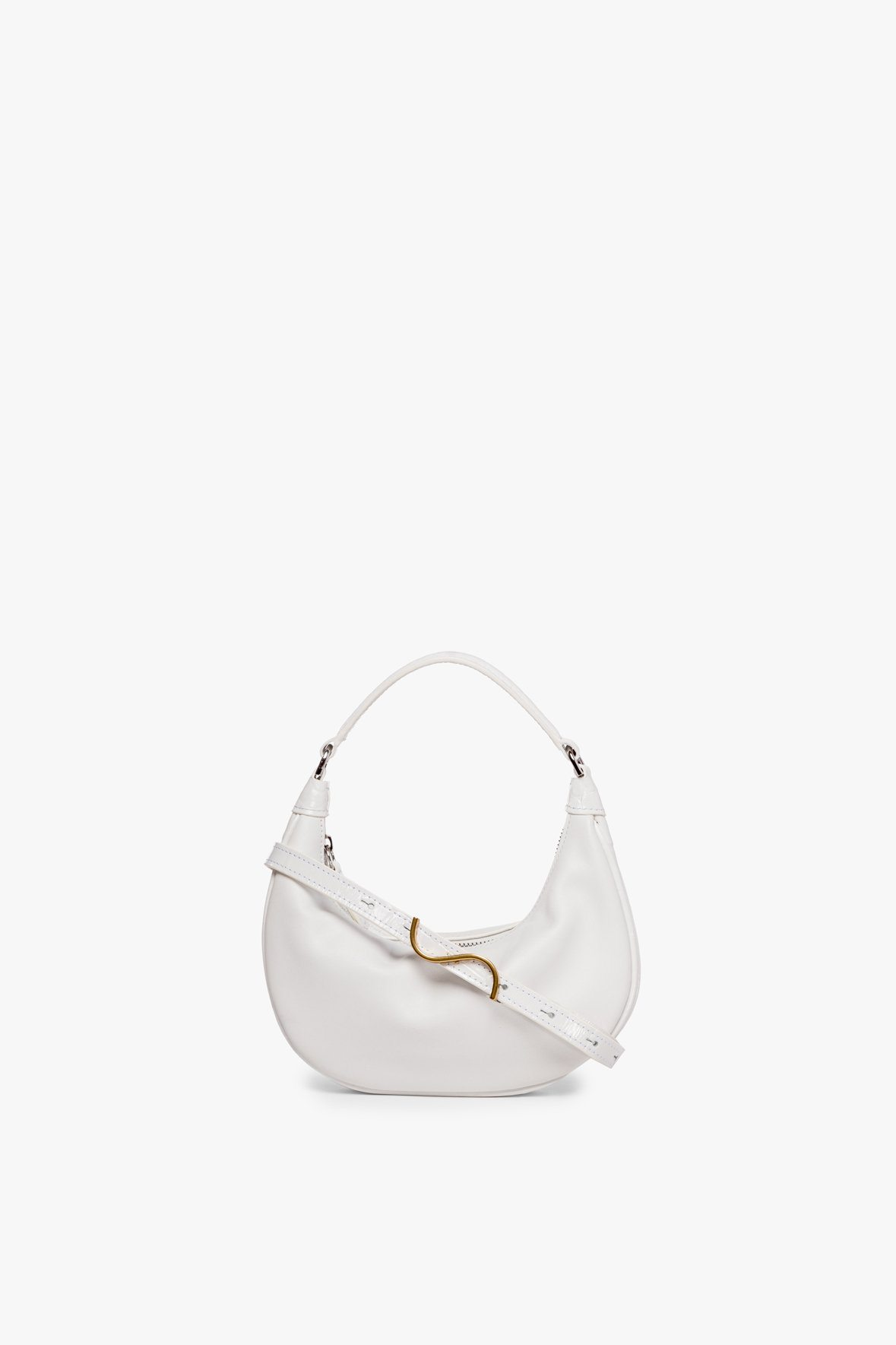 MINI SASHA CROSSBODY FRESH WHITE