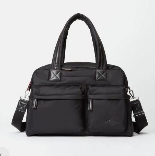 BLEECKER TRAVEL DUFFLE XL BLACK AIR