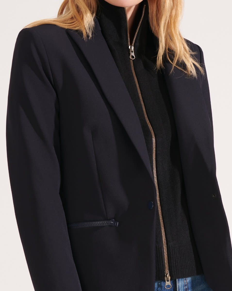 Cashmere Uptown Dickey Black