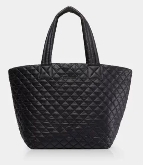METRO TOTE MEDIUM BLACK