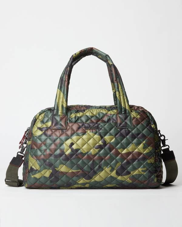 JIMMY TRAVEL SMALL GREEN CAMO