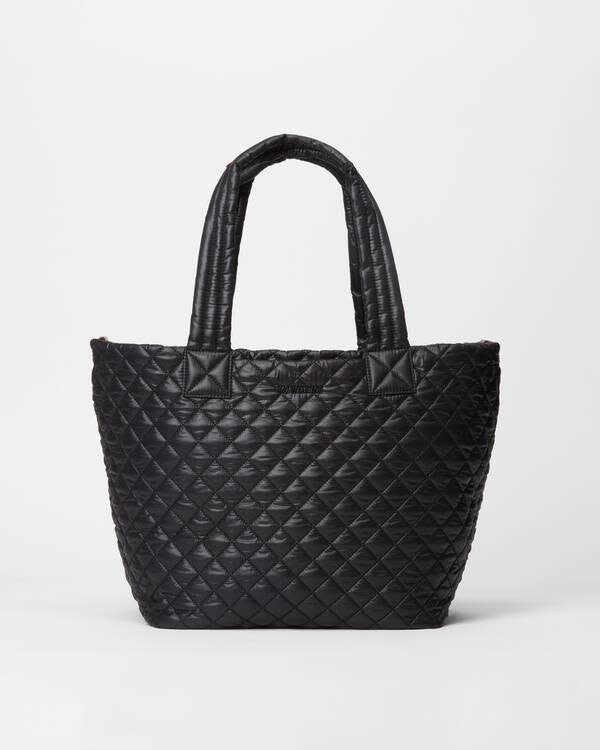 METRO TOTE DELUXE MEDIUM BLACK