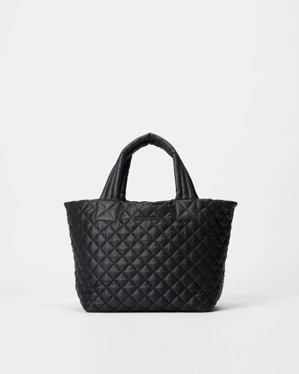 METRO TOTE DELUXE SMALL BLACK