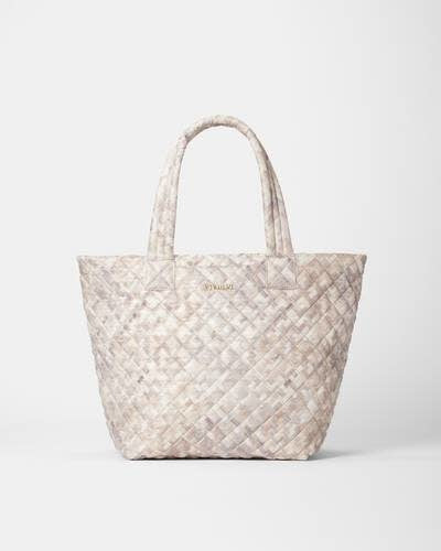 METRO TOTE DELUXE MEDIUM BASKET WEAVE