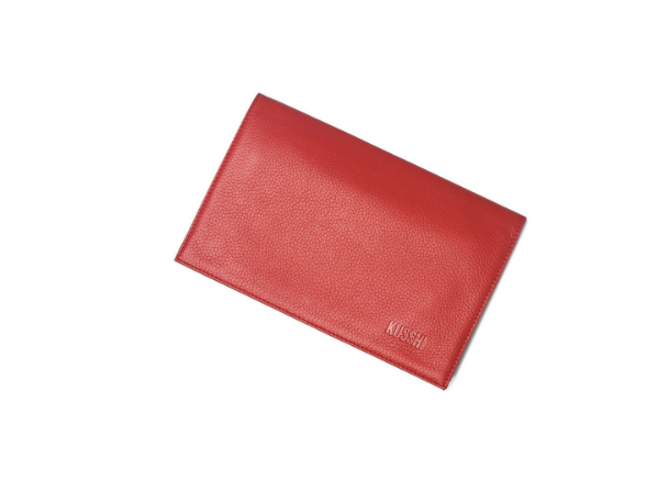 CLUTCH COVER RED LEATHER