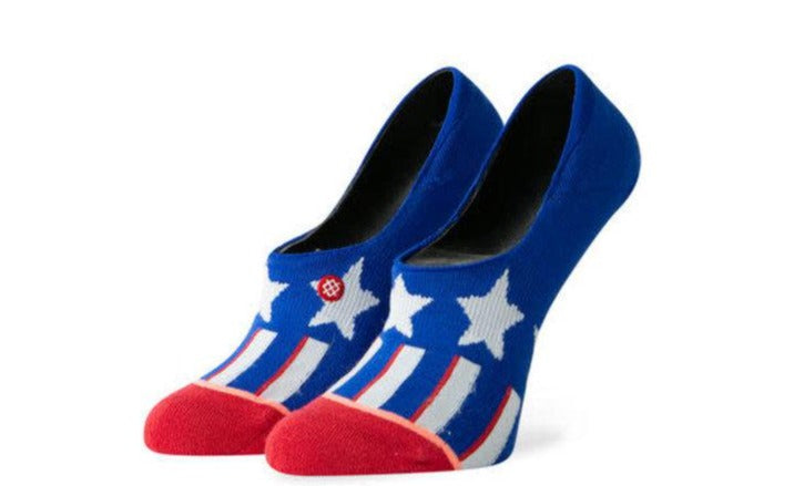Patriotism in Blue Socks Size Small