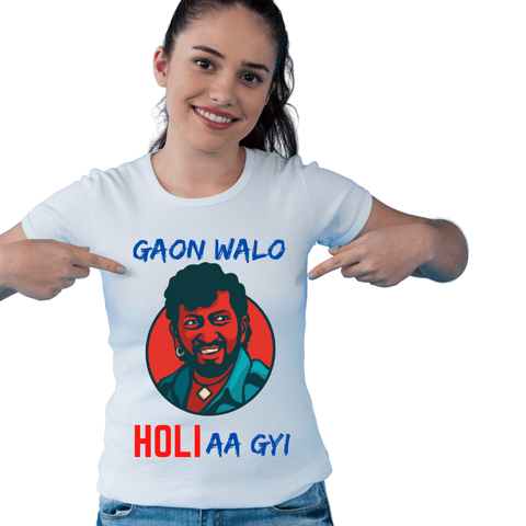 Graphic T-shirt For Holi