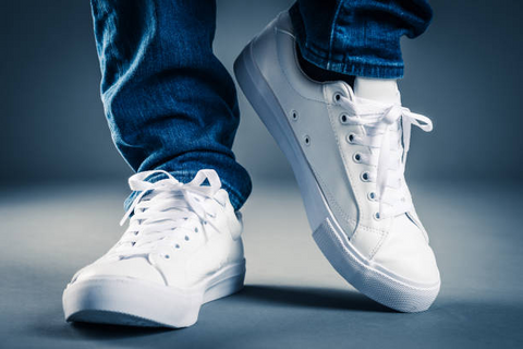 white sneakers picture