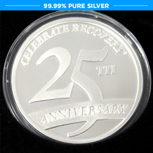 25th Anniversary Commemorative Silver Coin