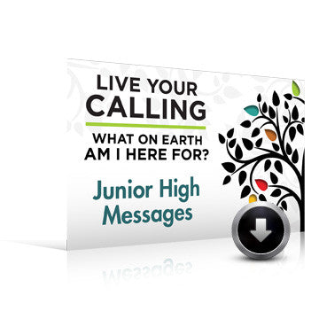 You Are Here?: What On Earth Am I Here For? Sermons for Jr Highers