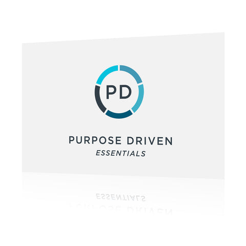 Purpose Driven Essentials Conference 2016