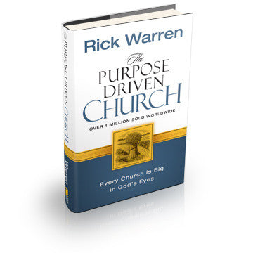The Purpose Driven Church (Hardcover)
