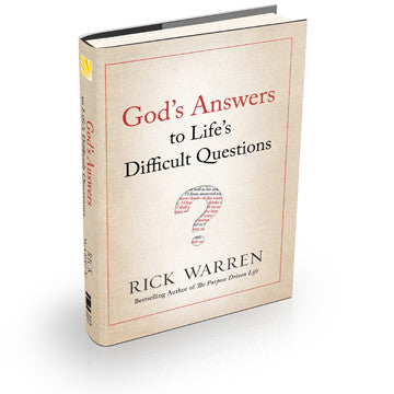 God's Answers to Life's Difficult Questions (Hardcover)