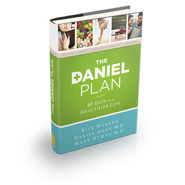 The Daniel Plan Book: 40 Days to a Healthier Life (Hardcover)