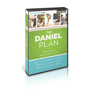The Daniel Plan Audio Book: 40 Days to a Healthier Life (8 CDs)
