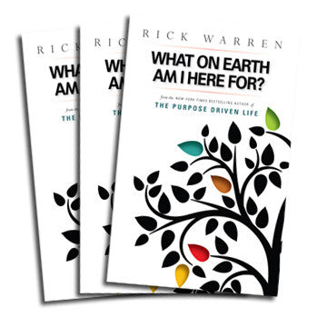 What on Earth Am I Here For? Mini-Book (Pack of 10)
