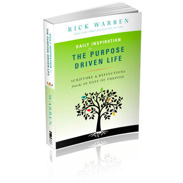 Daily Inspiration For the Purpose Driven Life (Softcover)