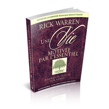 The Purpose Driven Life French (Softcover)