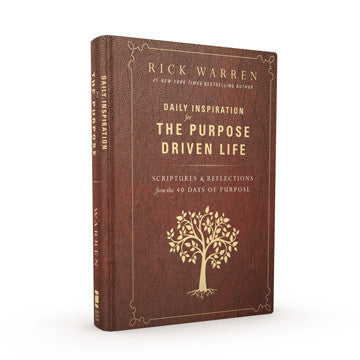 Daily Inspiration for the Purpose Driven Life Gift Edition (Hardcover)