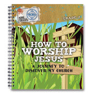 How to Worship Jesus: Journey to Discover My Church (10 Workbooks and 10 Sticker Sheets)