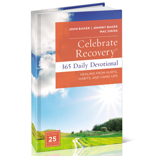 Celebrate Recovery Daily Devotional (Hardcover)