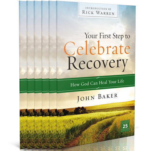 Your First Step to Celebrate Recovery Outreach Pack (6 Softcover Books)