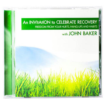Invitation to Celebrate Recovery (CD)