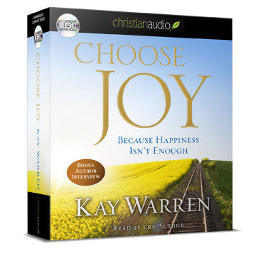 Choose Joy Audio Book (5 Audio CDs)