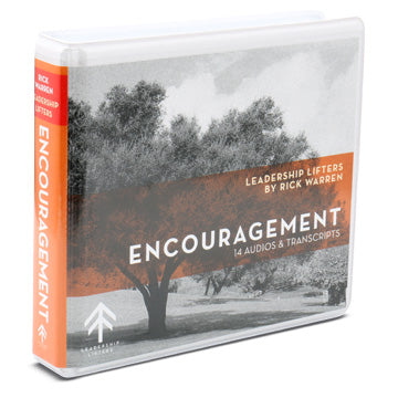 Lessons For Leaders On Encouragement