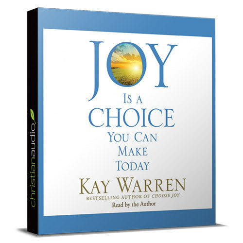 Joy Is a Choice You Make Today Unabridged Audio Book on CD