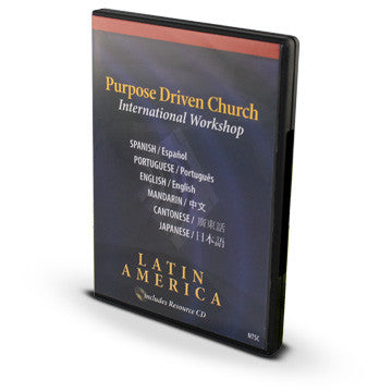The Purpose Driven Church International Workshop: Latin America Edition (NTSC)
