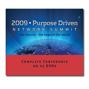 Purpose Driven Network Summit 2009 Conference DVDs