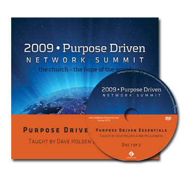 Purpose Driven Essentials (2 DVDs)