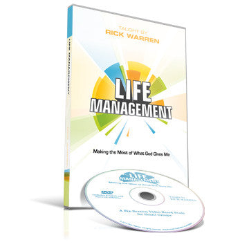 Life Management Small Group DVD