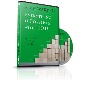 Everything is Possible With God Small Group DVD