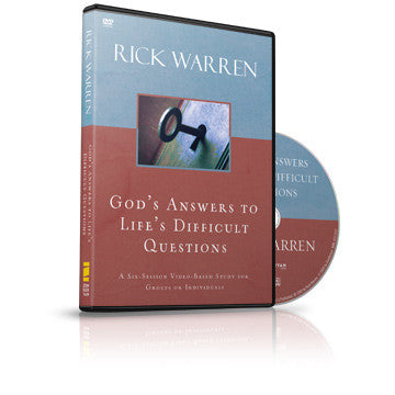 God's Answers to Life's Difficult Questions Small Group DVD