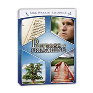 Purpose of Preaching Seminar DVD