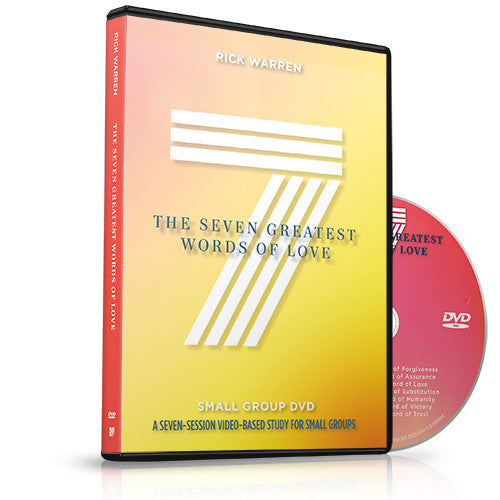 The Seven Greatest Words of Love Small Group DVD
