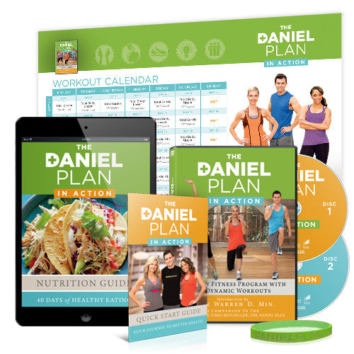 The Daniel Plan In-Action DVD (Value Pack)