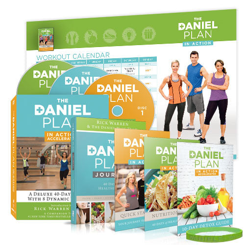 The Daniel Plan In-Action DVD (Deluxe Pack)