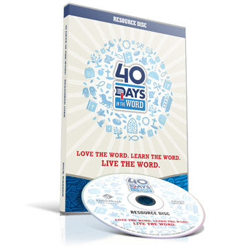 40 Days In the Word Resource Disc