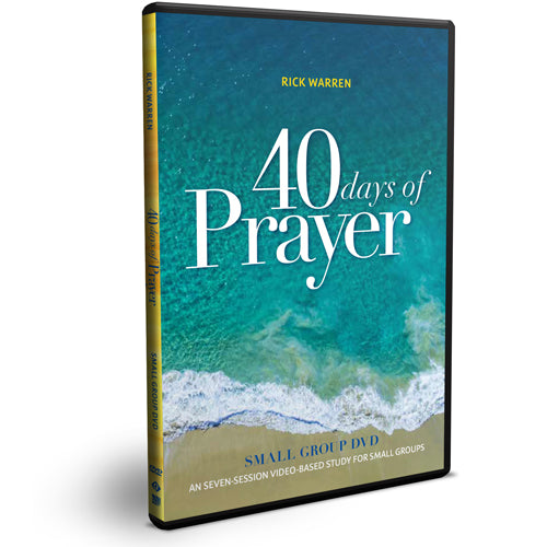 40 Days of Prayer Small Group DVD
